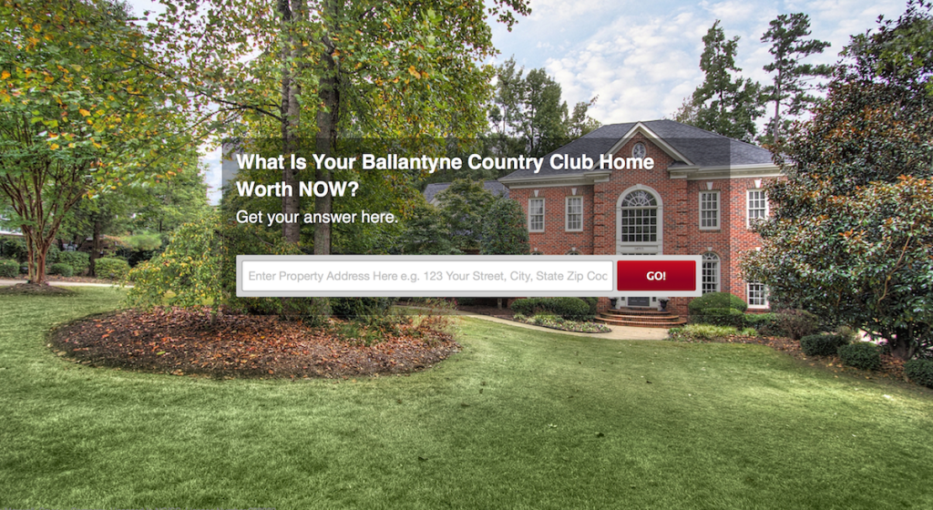 Thinking of selling your Ballantyne Home ?  Give us a call.