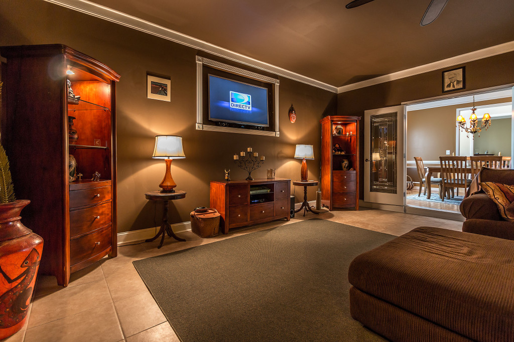 Homes for sale in Charlotte with theatre rooms