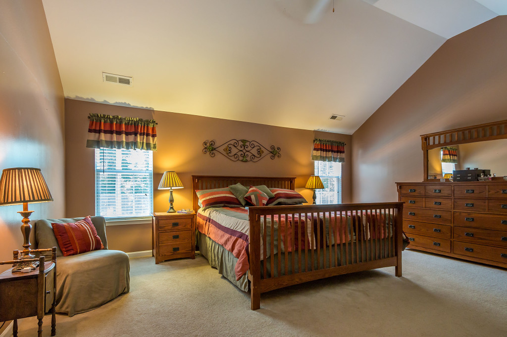 Luxurious master suites in Charlotte homes for sale