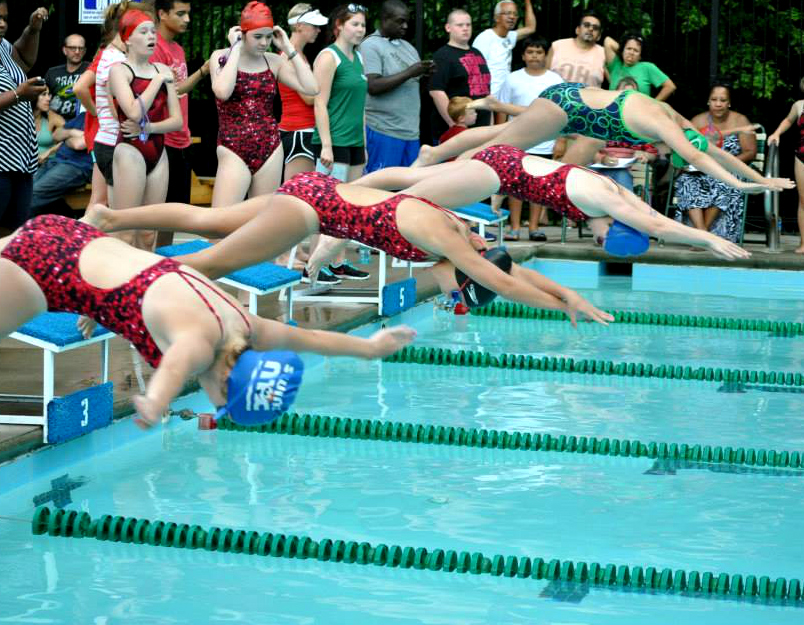 Overlook swim team