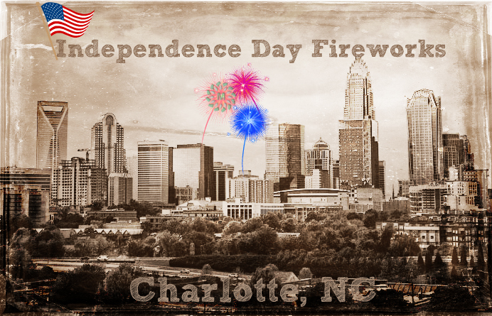 Independence Day Fireworks Charlotte NC
