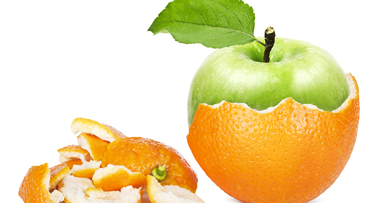 Oranges to apples in the real estate market
