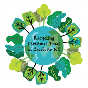 Recycling Christmas Trees in Mecklenburg County