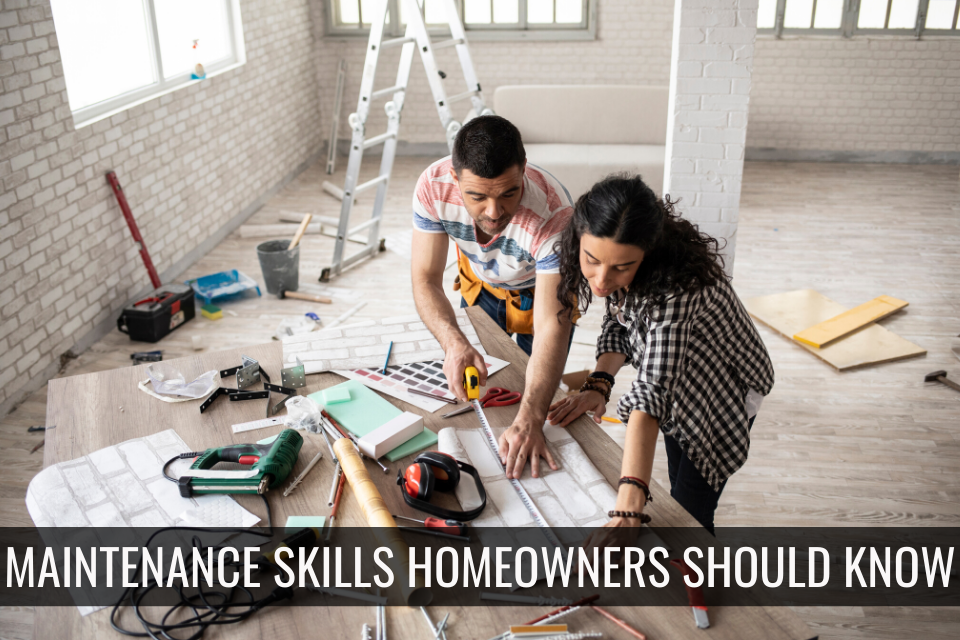 Maintenance skills Charlotte Homeowners should know.