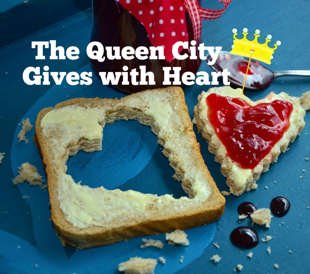 The Queen City Gives with Heart